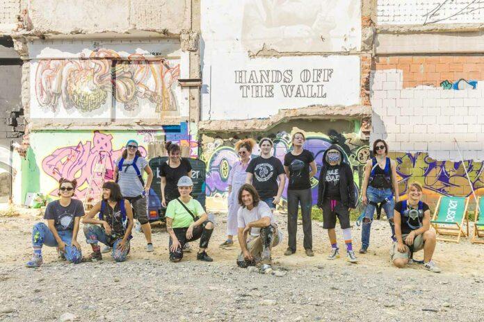 Das Female Graffiti und Street Art Festival Hands Off The Wall kommt wieder ins Werksviertel-Mitte