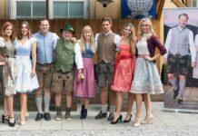 Angermaier Trachten Trends 2021 im Park Café München vorgestellt