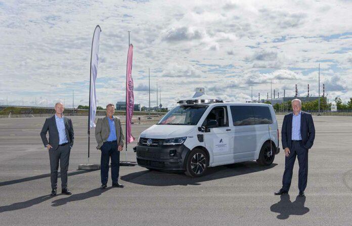 Das neue Testgelände am Flughafen München ist startklar für die autonomen Fahrzeuge von morgen