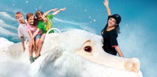 Bavaria Filmstadt - Fuchur mit Tourguide und Kids