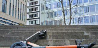 Stadtgebiet München: Steigerung der Unfälle mit E-Scooter