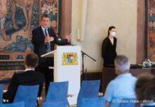 Feierlicher Absolventenempfang in der Münchner Residenz