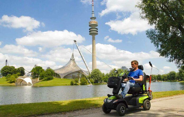 Elektromobil-Verleih im Olympiapark