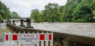Hochwasser: Sperrungen an der Isar - Meldestufe 2 erreicht!