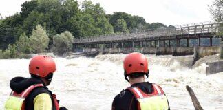 Achtung - Isar Hochwasser!