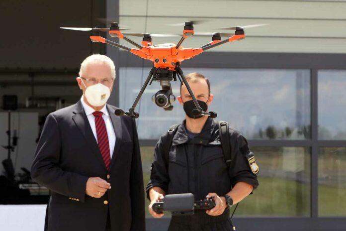 Verstärkter Einsatz von Drohnen bei der Bayerischen Polizei
