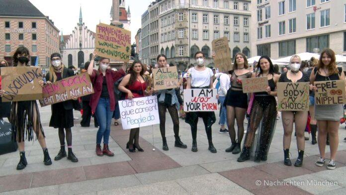 Das war der SlutWalk München 2021