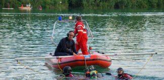 Großangelegte Wasserrettungsübung am Unterschleißheimer See