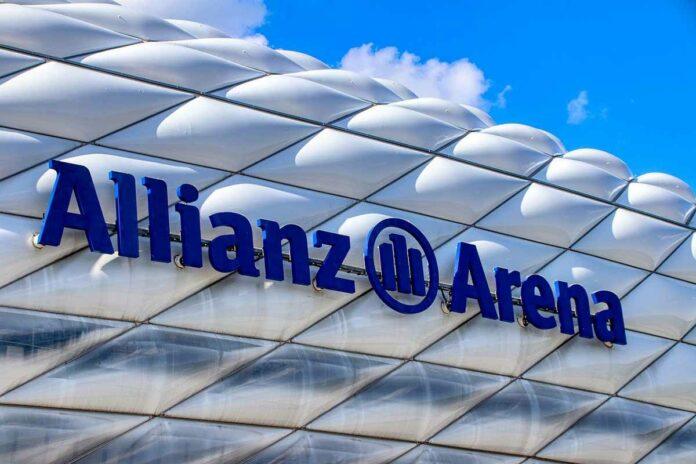 Impfaktionen vor der Allianz Arena