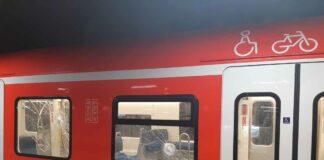 Nach Pöbelei in der S-Bahn - Maskenverweigerer wirft mit Schottersteinen