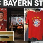 Bewaffnet Bayern-T-Shirt aus Fanshop gestohlen