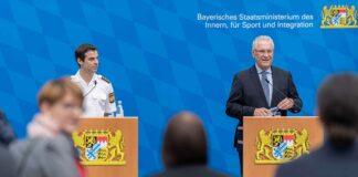 Herrmann stellt neues Infotainment-System für Streifenwagen der Bayerischen Polizei vor