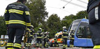 86-Jähriger bei Unfall mit Tram schwer verletzt