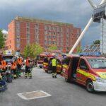 Werksviertel München: Großer Wasserschaden sorgt für mehrstündigen Feuerwehreinsatz