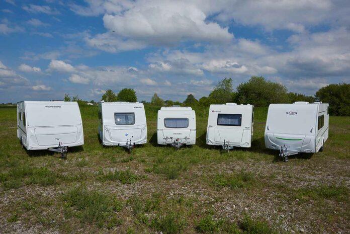 ADAC Test Caravans