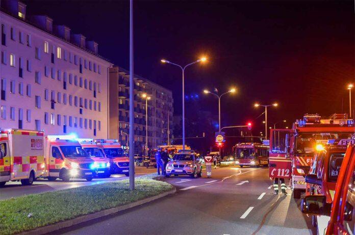 Milbertshofen: Vier Verletzte bei Wohnungsbrand