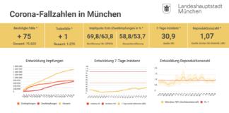 Update 13.08.: Entwicklung der Coronavirus-Fälle in München – 7-Tage-Inzidenz liegt bei 30,9