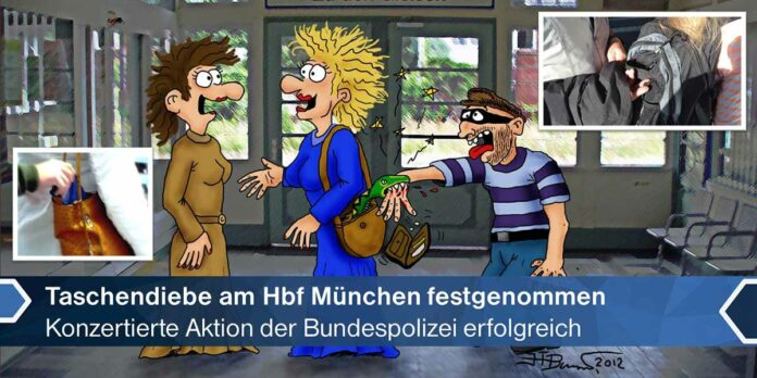 Hauptbahnhof: Festnahme von vier professionellen Taschendieben