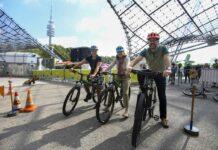 12.500 Besucher*innen beim 5. Münchner Outdoorsportfestival im Olympiastadion