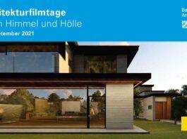 20. Architekturfilmtage der Bayerischen Architektenkammer - 23. bis 29. September 2021 im Filmmuseum München