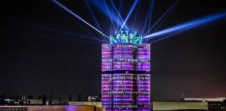 BMW Lichtinszenierung zur IAA Mobility 2021