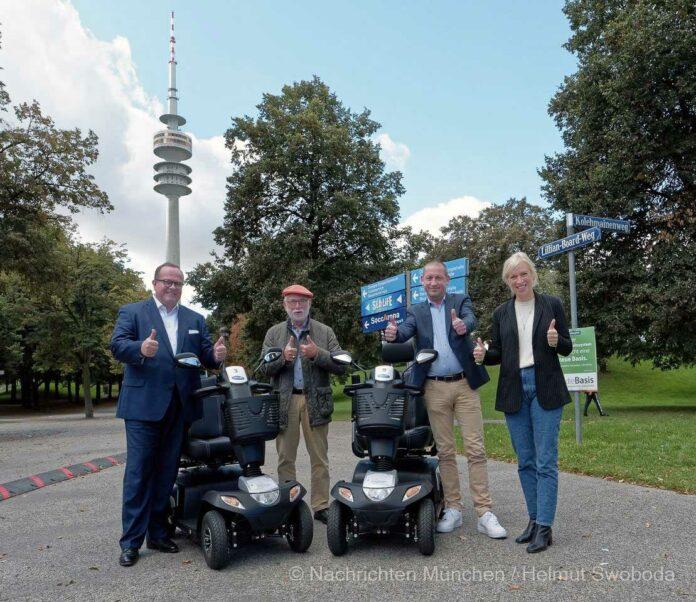 Erfolgreicher Start des Elektromobil-Verleihs im Olympiapark
