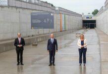 Verlängerung des Bahntunnels am Münchner Flughafen fristgerecht fertiggestellt