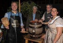 Stelldichein mit Prinz von Bayern und den Oktoberfestwirten beim Herbstfest im Café Guglhupf