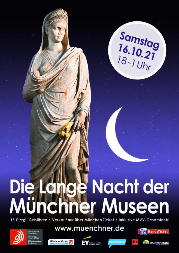Auf geht's zur Langen Nacht der Münchner Museen am 16. Oktober 2021