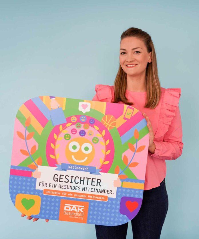 Digitalministerin Gerlach und DAK-Gesundheit suchen Gesichter für ein gesundes Miteinander 2021