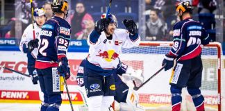 EHC Red Bull München - Erfolgreicher Start! 4:1-Sieg in Berlin
