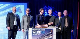 Ein Zuhause für Startups in München - Grundstein Werk 1.4 gelegt