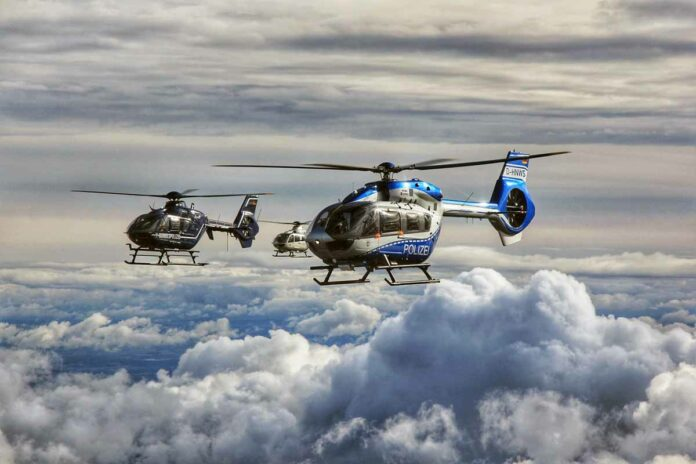 Piloten des Bundes und der Länder trainieren im alpinen Gelände