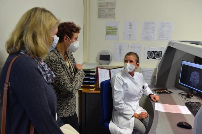 Gesundheitsreferentin Beatrix Zurek besucht die München Klinik Bogenhausen und Harlaching