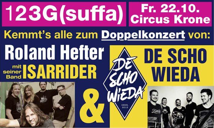 Roland Hefter mit Isarrider & Deschowieda - 1, 2, 3 G (SUFFA) - 22. Okt 2021 Circus Krone München