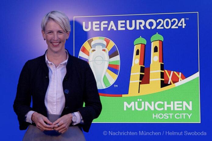 UEFA EURO 2024: Host City Logo der Stadt München präsentiert