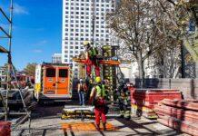 Milbertshofen: Bauarbeiter bei Unfall schwer verletzt