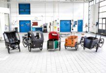 Fünf dreirädrige E-Lastenräder erstmals im ADAC Test