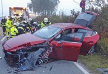 eCAll meldet Verkehrsunfall
